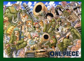 One Piece Chapter 741 Colorspread by StarDrummer