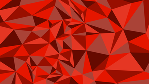 Low Poly Red Triangles by Kohlheppj13