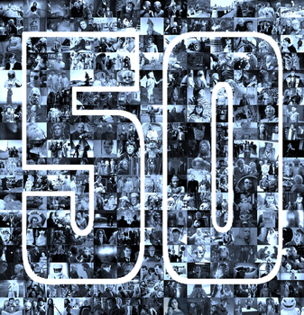 1963-2013: 50 Years of Doctor Who by Leda74