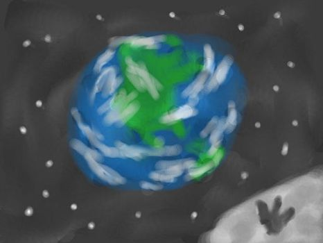 Earth painting by Cupercrusader
