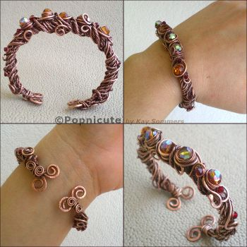 Enchanted Tree Bangle by popnicute