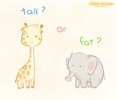 fat or tall by animonzta