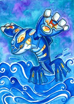 Primal Kyogre by Magizoom