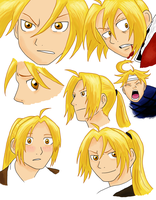 Edward Elric Collage by DarbyLucy