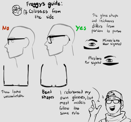 Glasses Guide by FroggyLovesCoffee