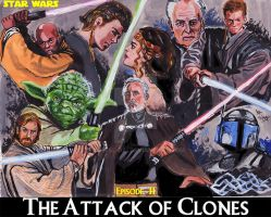 Episode-II, Star Wars, The attack of clones by mrinal-rai