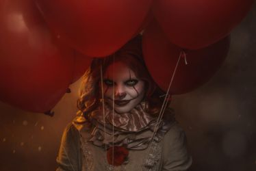 Pennywise the dancing Clown [Stephen King's IT] by FaerieBlossom