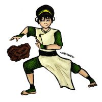 Toph Beifong by Inkstandy