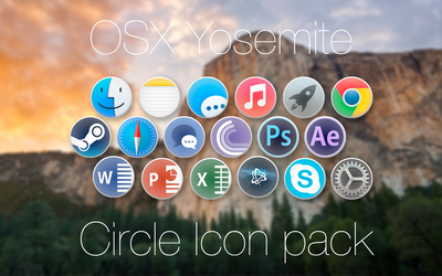 Circle Icons by Abylaiazh