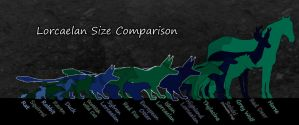 Lorcaelan Size Comparison by EncounterEthereal