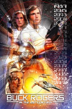 Buck Rogers by jonpinto