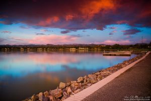 A Lake View Morning by kkart