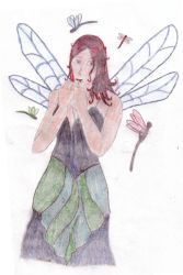 The Dragonfly Queen by ravenscry69