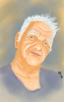 Aged Self Portrait by JCCabs