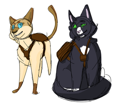New Characters by Clumsiestgirl