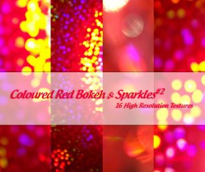 Coloured Red Bokeh + Sparkles2 by powerpuffjazz