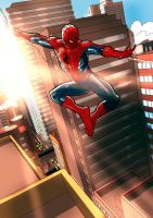 Your friend spider-man by alexeuses