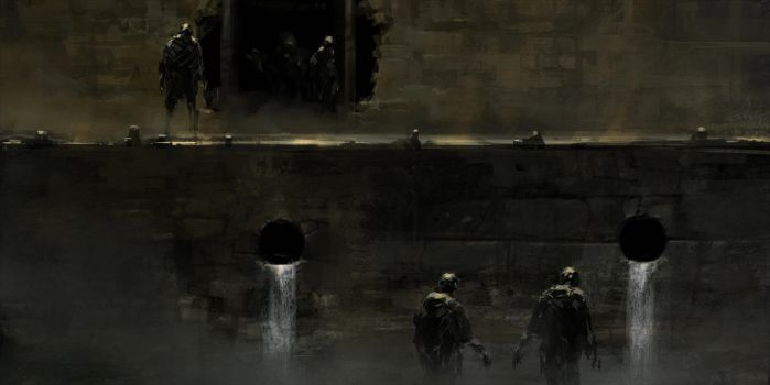 Sewers by ChrisCold