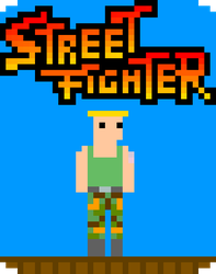 Street Fighter IV Guile Gamecard (Request) by Obnasious