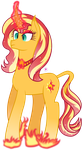 Regal Sunset Shimmer by illumnious