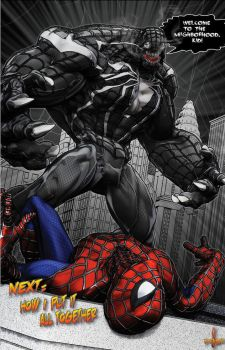 The Retelling of Amazing Spider-Man #300 Page 8 by LittleShaolin