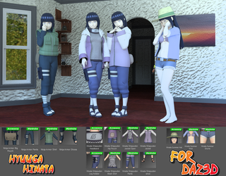 Hyuuga Hinata Shippuden for G8F by Shinteo