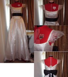 Cendrillon Miku gown finished by PlutonianNight