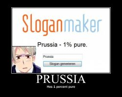 Prussia Motivational Poster by VickVicka