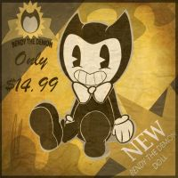 bendy the demon doll by ivy6323