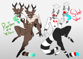 Halo-Fiend Adoptables|{0/2} by CrownedCytpids