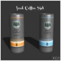 Iced Coffees Set by KoDraCan