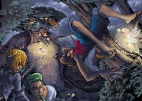 One Piece - Discovered fairies by Sapphire1010