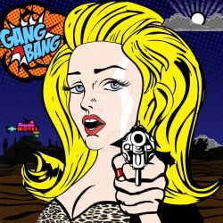 Madonna - Gang Bang single cover by Ludingirra