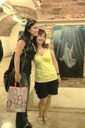 Tarja at my exhibition by Ansheen