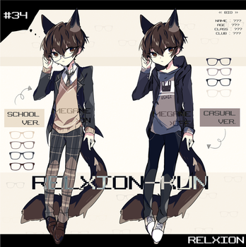 [AUCTION*CLOSED]Lineheart*34 by Relxion-kun