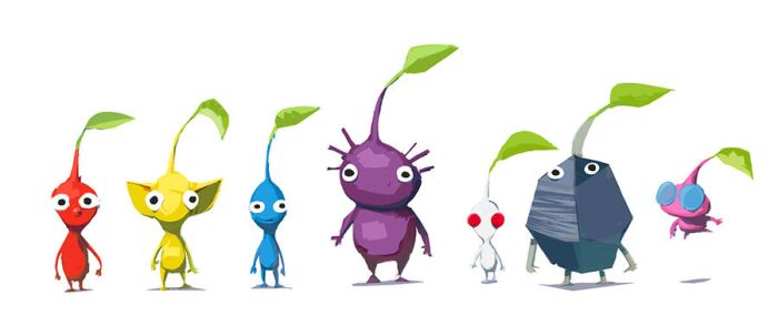 Pikmin by Ben-Olive