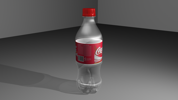 Coke Bottle - First work in Maya by HeaTx-Tm