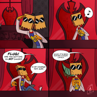 Villainous: The Boss' Chair by spadillelicious