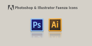 Photoshop And Illustrator CS6 Faenza Icons by wheell33