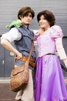 Eugene and Rapunzel by Childishx