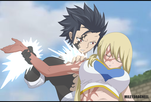Gray Fullbuster and Lucy Heartfilia - Chapter 538 by LucyHeartfiliaR