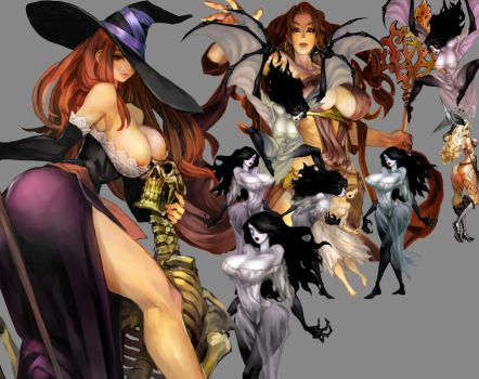 Dragon's+crown+vampire 2 by bluefaces