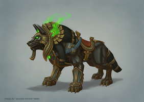 Heroes' Arena Mount Wolf by e-danilov