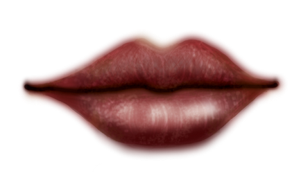 Painting_lips_01 by Sabina-Elisabeth