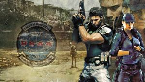 BSAA Chris and Jill by MusashiChan69