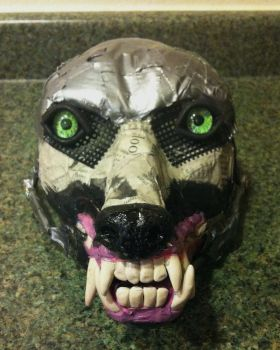 Wolf Mask Base 1 by SabrePanther