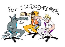 MY GIFT FOR ICEDOG MCMUFFIN by JoyBoys
