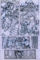 SanEspina JupiterLegacy Page3 pencils by santiagocomics