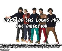 Pack Logos de One Direction PNG by BekaLaUnicorniaRosa