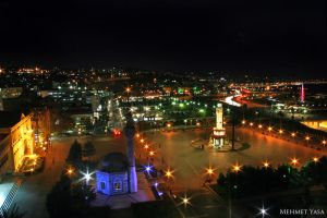 Konak Square Night by MehmetYasa